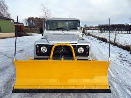 updated land rover snow ploughs