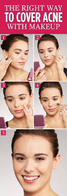 makeup tips for people with acne