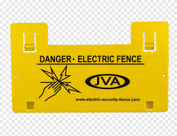 Electric Fence Electricity Gate Security Fence Rectangle Warning Sign Png Pngegg