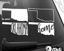 Oklahoma State Decal Etsy