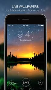 live wallpapers for iphone 6s free