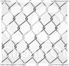 Clipart Chicken Wire Fence Royalty Free Vector Illustration By Vectorace 1114205