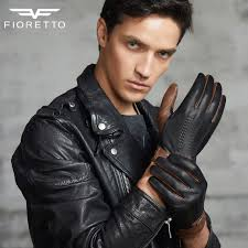fioretto fashion winter mens leather