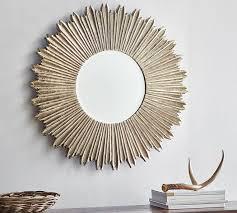 soleil wall mirror pottery barn