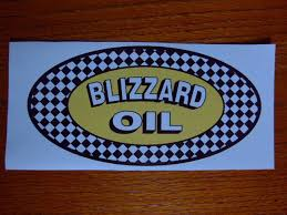 Buy Vintage Reproduction Ski Doo Blizzard Oil Snowmobile Decal Motorcycle In Kutztown Pennsylvania Us For Us 12 00