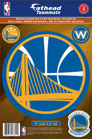 Fathead Golden State Warriors Logo Wall Decal Dick S Sporting Goods