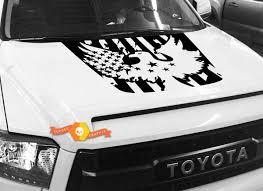 Product Bald Eagle Usa Flag Hood Graphics Decal For Toyota Tundra 2014 2015 2016 2017 2018 1