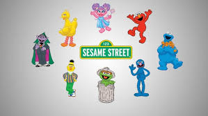 Sesame Street Characters Decals Vinyl Decals Svg File Etsy
