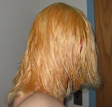 how to get orange out of blonde hair