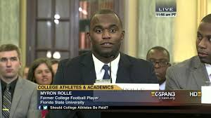 Myron Rolle Opening Statement (C-SPAN) - YouTube