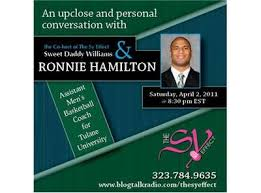 Tulane University Asst. Basketball Coach Ronnie Hamilton 04/02 by The Sy  Effect Radio Show | Sports