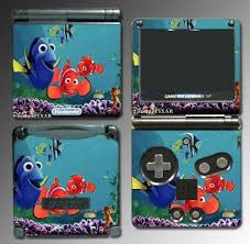 Finding Nemo Marlin Dory Game Vinyl Decal Skin Protector Cover For Nintendo Gba Sp Gameboy Advance Game Boy Game Searches Gameboy Disney Cartoon Movies Games