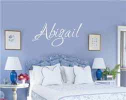 Personalized Custom Name Vinyl Decal Wall Stickers Letters Words Girl Teen Room Decor Gift