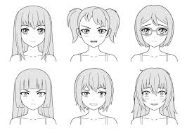 How To Draw Anime Characters Step By Step How To Draw Anime Step ...