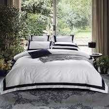 hotel bedding sets bed set solid color
