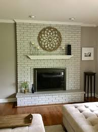 paint brick walls and fireplaces