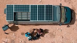 install solar on a cer van