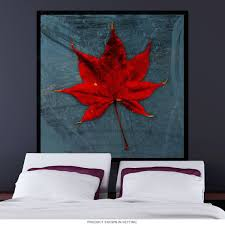 Japanese Maple Tree Leaf Wall Decal At Retro Planet