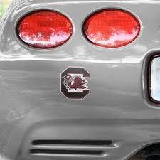 South Carolina Gamecocks Team Logo Car Decal