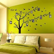 Large Family Tree Wall Decal Peel Stick Vinyl Sheet Easy To Instal Zingydecor