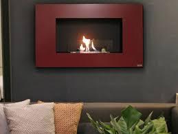 bioethanol wall mounted fireplace