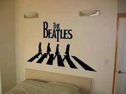 Home Garden Any Color Beatles Vinyl Decal Wall Sticker Auto Graphics Abbey Road 8 Wide Children S Bedroom Girl Decor Decals Stickers Vinyl Art