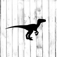 Velociraptor Dinosaur Home Laptop Computer Phone Truck Car Etsy