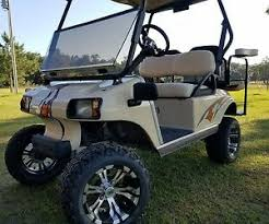 Golf Cart Graphics Decal Kit Club Car Ezgo Yamaha Ebay