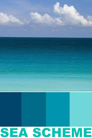 coastal seaside color schemes paint