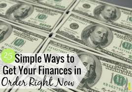 25 Ways to Get Your Finances Back on Track Right Now - Frugal Rules