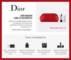 dior beauty free iconic lip disery