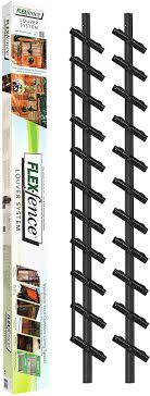 Amazon Com Flex Fence Decorative Versa Fence Louver System Perfect For Gardens Patios And Outdoor Spaces Indoor And Outdoor Use 1 Pack Garden Outdoor