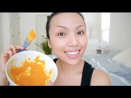 bright acne free skin diy face mask