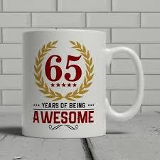 happy 65th birthday mum dad gift