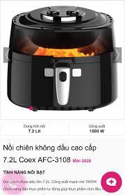 Nồi chiên không dầu cao cấp COEX 🔥Thiết... - Điện Máy MediaMart 66 Ngô  Quyền - TP Lạng Sơn