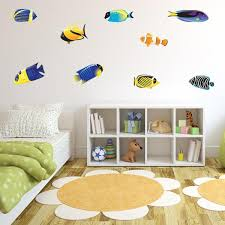 Tropical Fish Wall Decals Fish Stickers For Walls