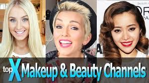 top 10 makeup you channels saubhaya