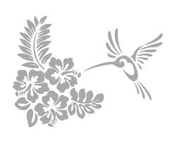 Hibiscus And Hummingbird Coastal Design Series Etched Decal For Shower Doors Glass Doors And Windows 14 Tall X 19 Wide Custom Sizes Available Handmade Dprd Tasikmalayakab Go Id
