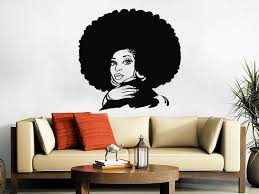 African Woman Wall Decal Tribal African Girl Vinyl Sticker Etsy African Home Decor African Inspired Decor African Living Rooms