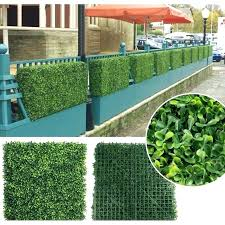 Artificial Greenery Panels Green Decor Room Dividers Wall In X Ivy Toqueglamour