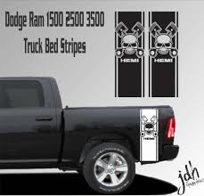 For Dodge Ram 1500 2500 3500 Truck Bed Stripe Vinyl Decal Sticker Hemi Skull Mopar Car Stickers Aliexpress