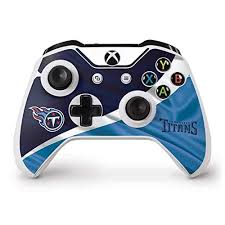 Ultra Thin Skinit Tennessee Titans Large Logo Xbox One X Controller Skin Officially Licensed Nfl Gaming Decal Lightweight Vinyl Decal Protection Fan Shop Sports Outdoors