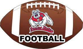 Fresno State Bulldogs Football Vinyl Decal Sticker 2 Pack Etsy