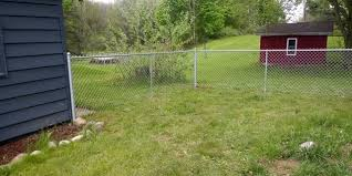 Link Fence 4 Ft Galvanized Chain Link Fence Drive Gate Facebook