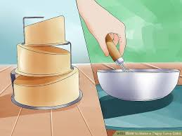 topsy turvy cake sugar and crumbs