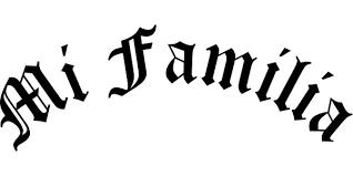 Mi Familia Decal Sticker 02
