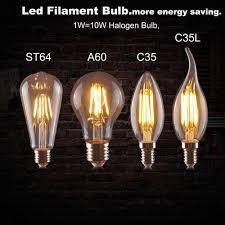 Phong Cách Retro Đèn LED Dây Tóc Bóng Đèn Thiết Kế Mới Tiết Kiệm Năng Lượng  6W Nến E14 E27 220V Mờ 360 Độ Chiếu Sáng đèn Đèn Chùm Bóng Đèn|