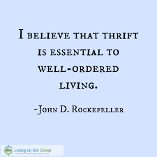 Image result for Thrifty quotes