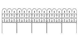 Amagabeli Decorative Garden Fence 32 In X 20 Ft Rustproof Green Iron Landscape Wire Folding Fencing