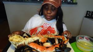 King Crab Mukbang by Martika Sutton